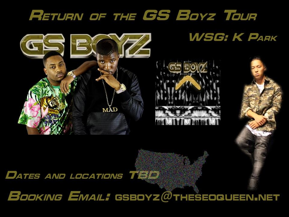 Return of the GS Boyz Tour with Special Guest K Park