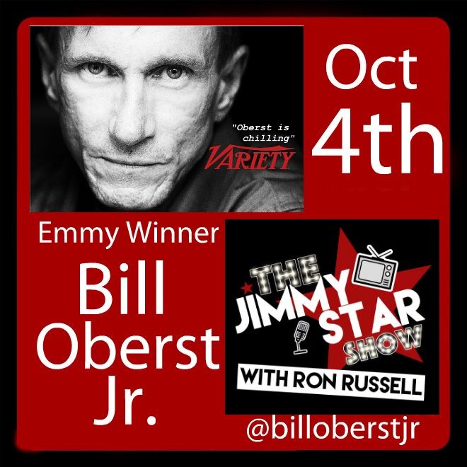 Bill Oberst Jr. on the Jimmy Star Show With Ron Russell