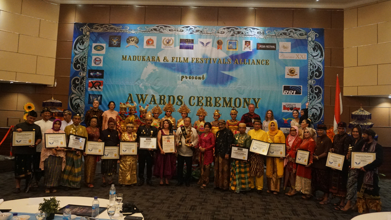 Kings and sultans of Nusantara, and winning filmmakers at the Awards Ceremony