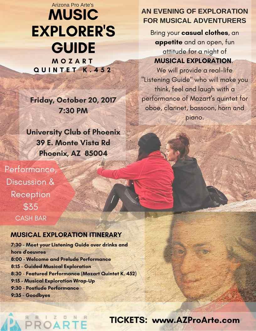 Music Explorer's Guide: Mozart