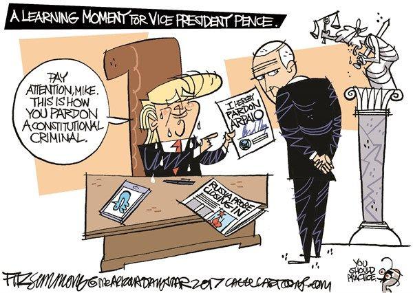 Is Trump's Arpaio Pardon Constitutional?