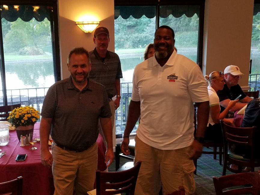 Jamaal Jackson at TLLCCF Golf & Bridge Classic