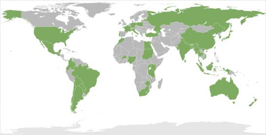 Static Screenshot of Map