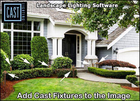 Add Cast Lighting Fixtures to the image - check out how to add effects!