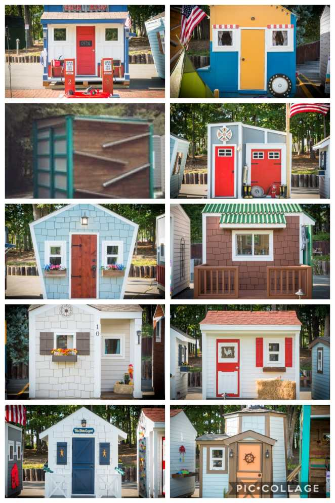 10 amazing miniature custom homes! Visit WorkLivePlayGive.org to learn more