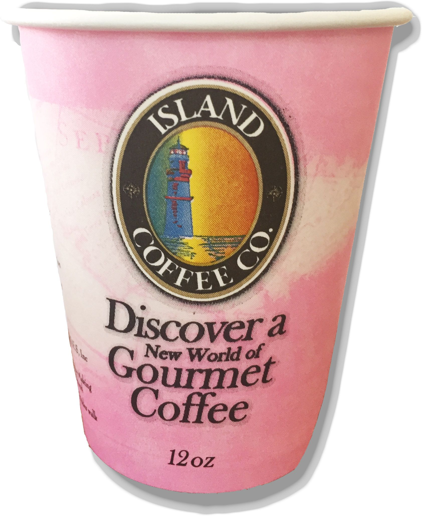Island Coffee Breast Cancer Awareness Pink Cup