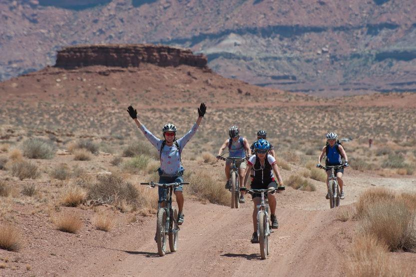 Biking with Friends Met Through CatchApp