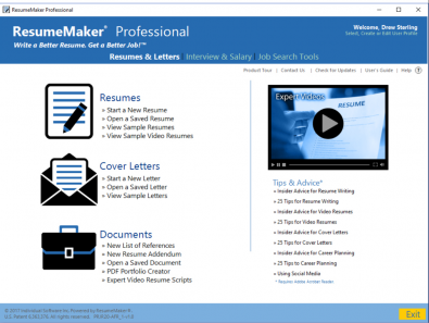 ResumeMaker has every tool to create a professional resume!