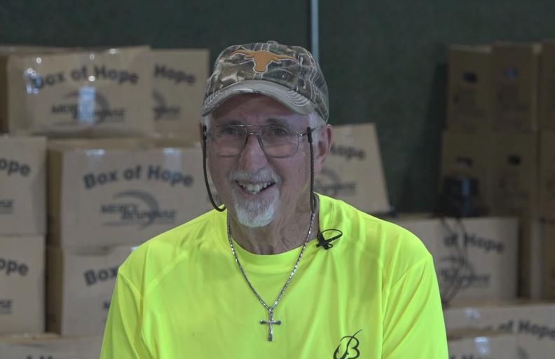 "Gerald ""Jerry"" Barrington, Volunteer"