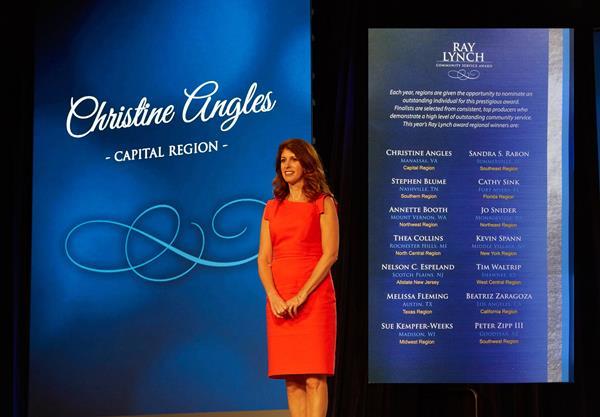 Ray Lynch Award to Manassas, VA Allstate Insurance Agent, Christine Angles