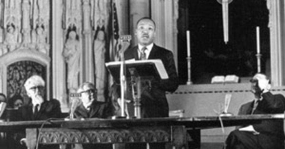 Dr. Martin Luther King Jr. Speaks Against Vietnam War at Riverside Church NYC