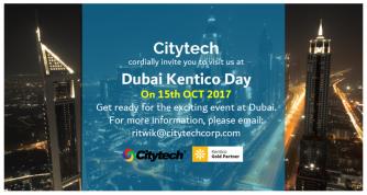 Kentico Day Dubai in 2017