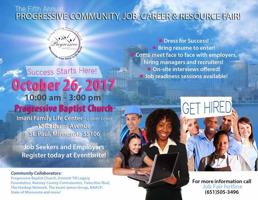 5th Progressive job fair