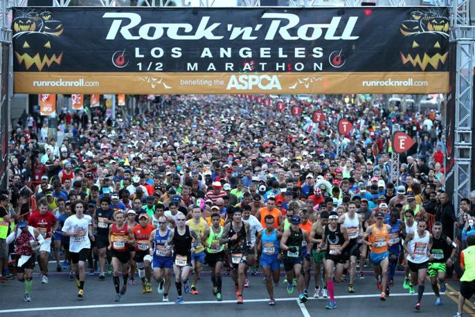Los Angeles Rock n Roll Marathon