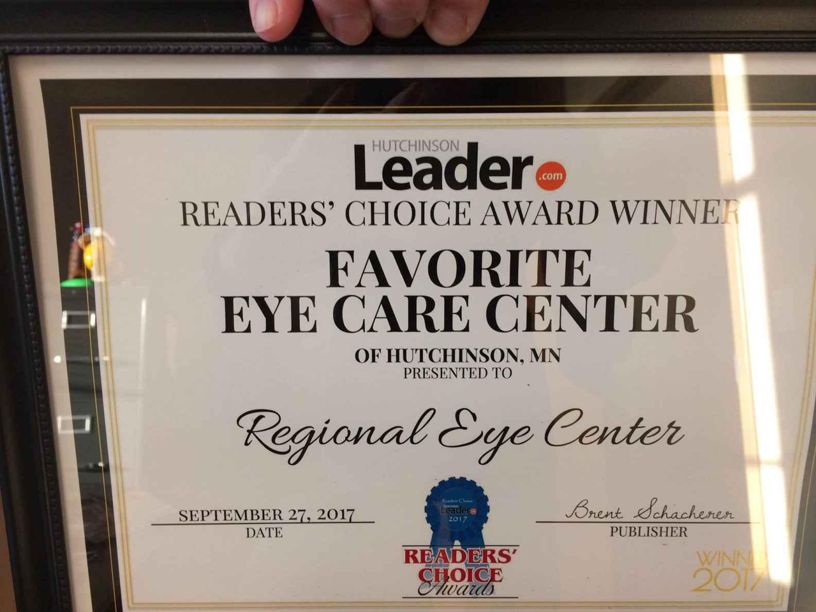Favorite Eye Care Center - Regional Eye Center