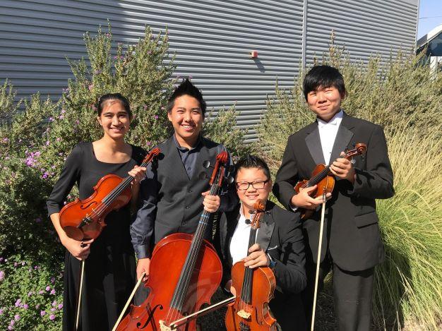The Buchanan High String Quartet