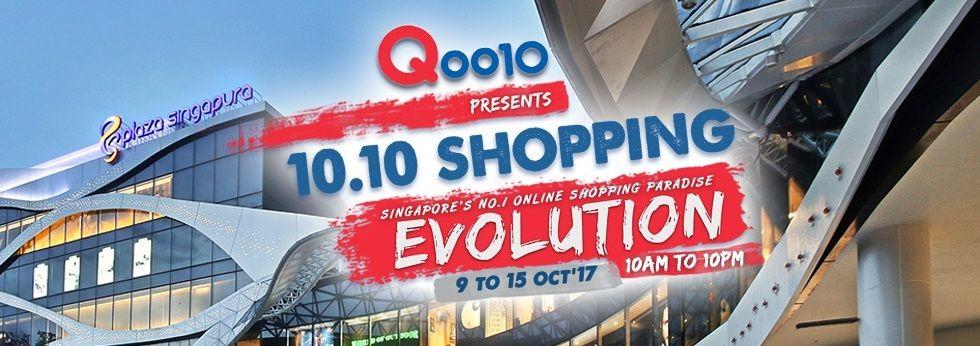 Qoo10 10.10 Shopping Evolution - Plaza Singapura Level 1 - 9 to 15 October