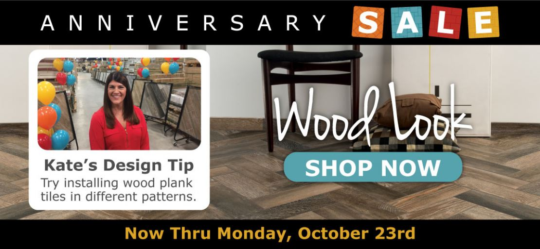 Shop Wood Planks During Tile Outlets of America Anniversary Sale