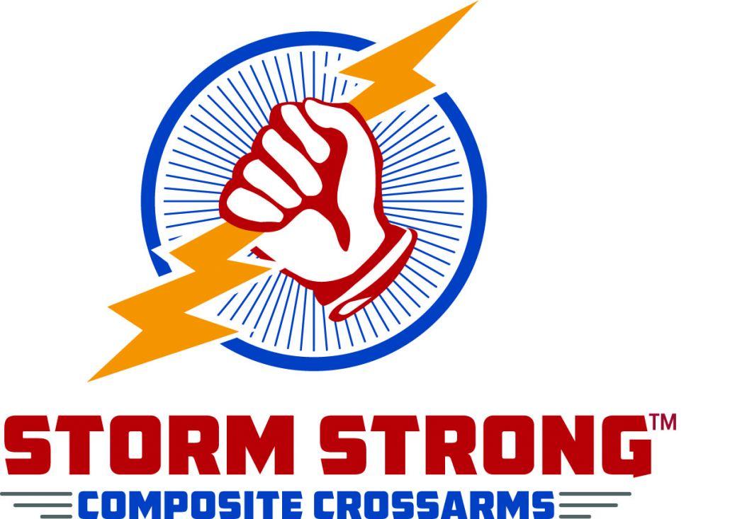 New STORMSTRONG Crossarm Logo