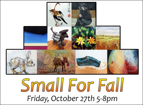 Small For Fall exhibit