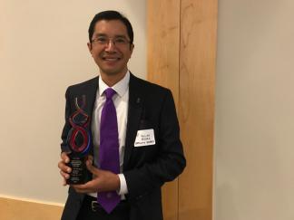 Allan Evora Wins Charlotte MED Award