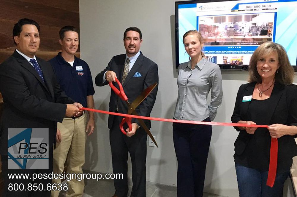 Ribbon Cutting with members of the Alpharetta Chamber of Commerce