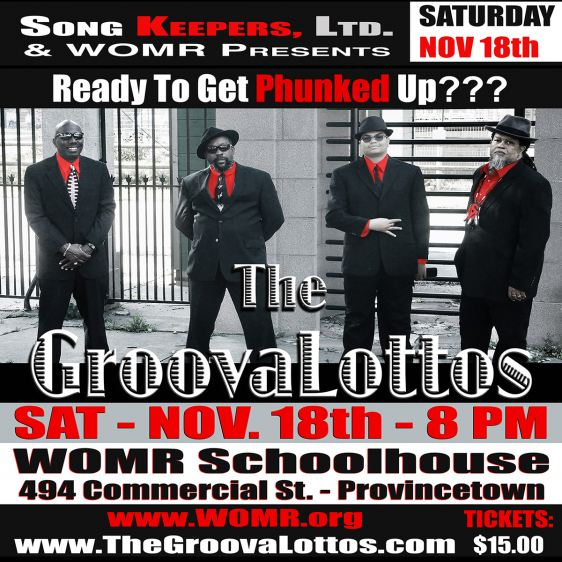 The GroovaLottos Schoolhouse Phunk Party