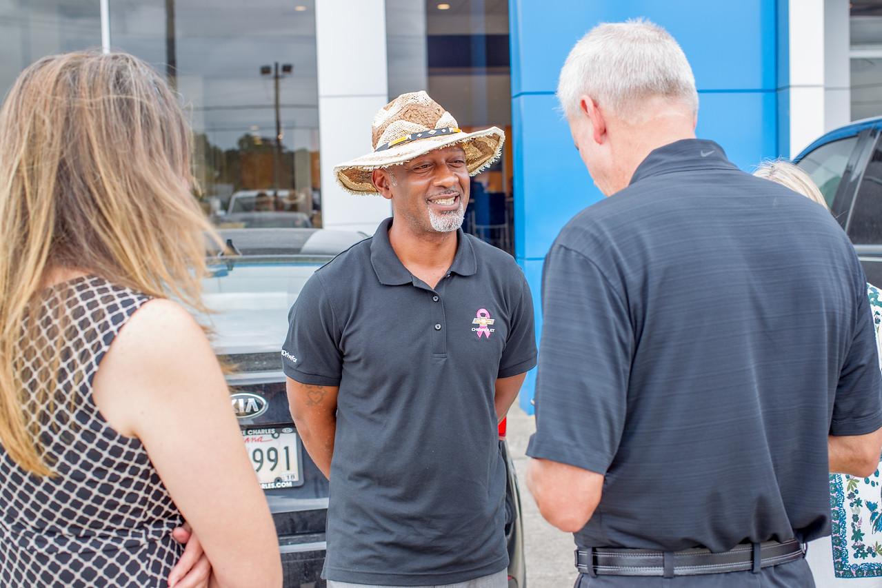 Jimmy Britt Chevrolet >> Georgia Chevrolet Dealer gives to Orange County Harvey