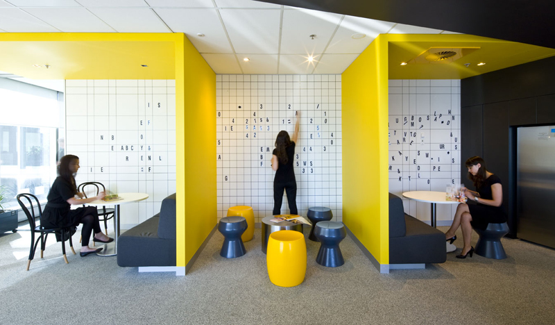 4 cutting edge office remodel ideas construction for Office 606 design construction llc