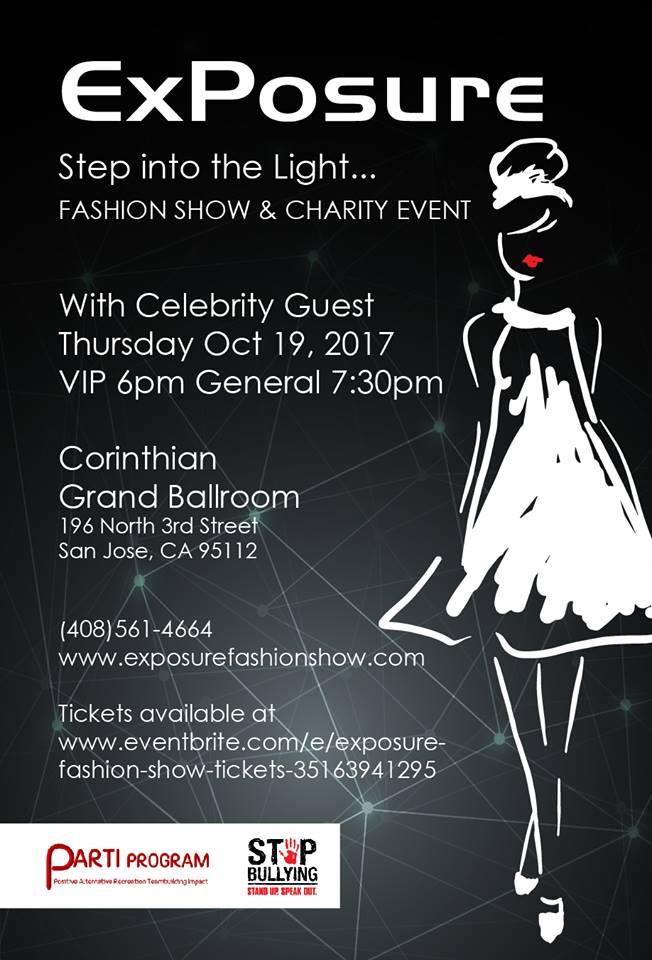ExPosure Charity Event Flyer