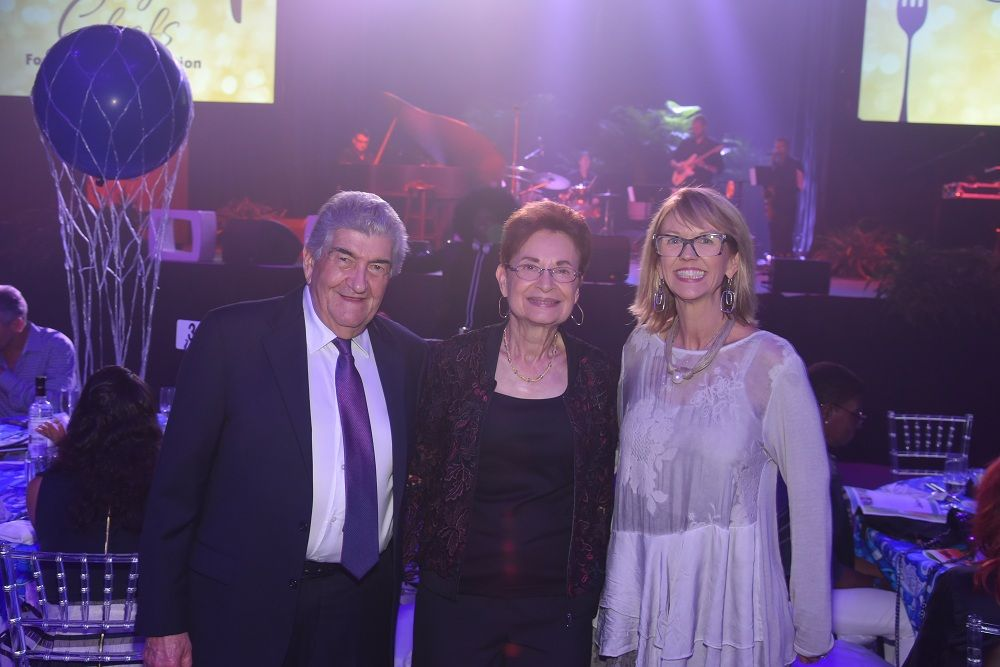 Joel Hochberg, Marcia Hochberg, and Charlotte Mather-Taylor
