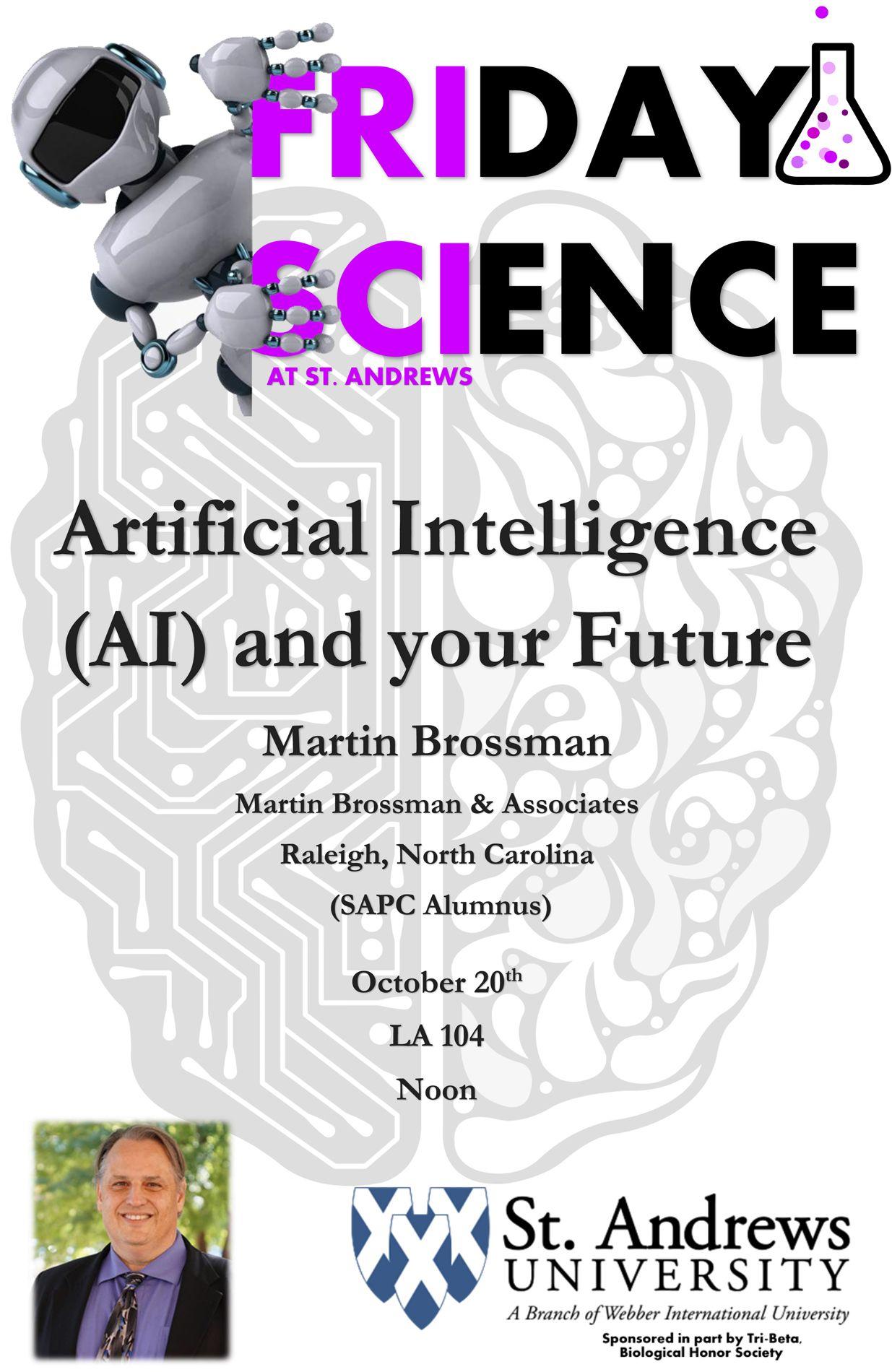 Friday Science Talk with Martin Brossman