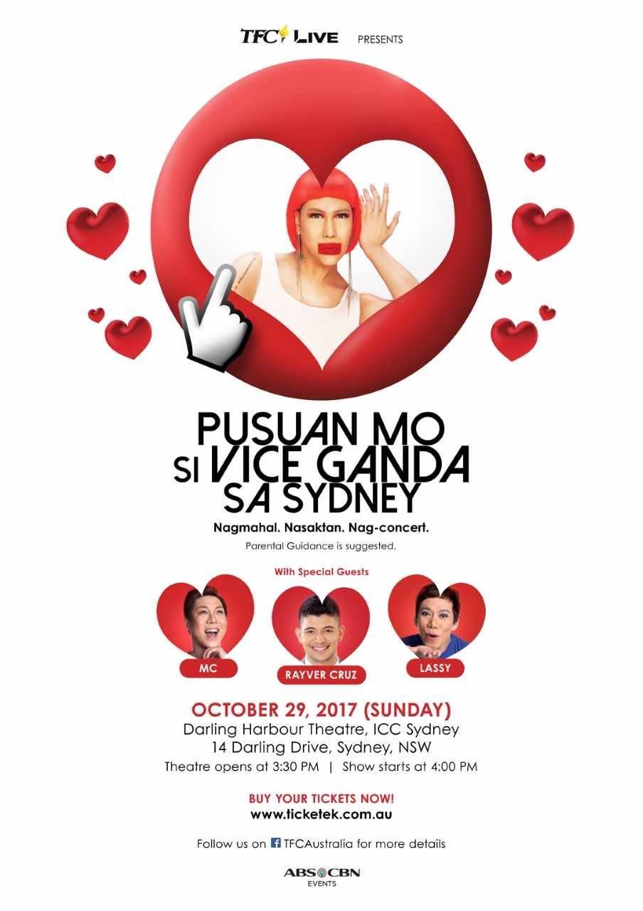 Pusuan Mo si Vice Ganda sa Sydney-poster
