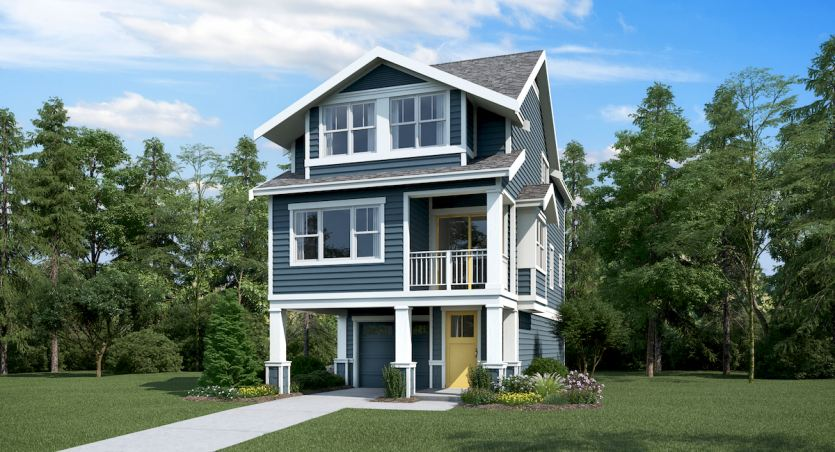 High Point is a new Lennar community coming soon to West Seattle.