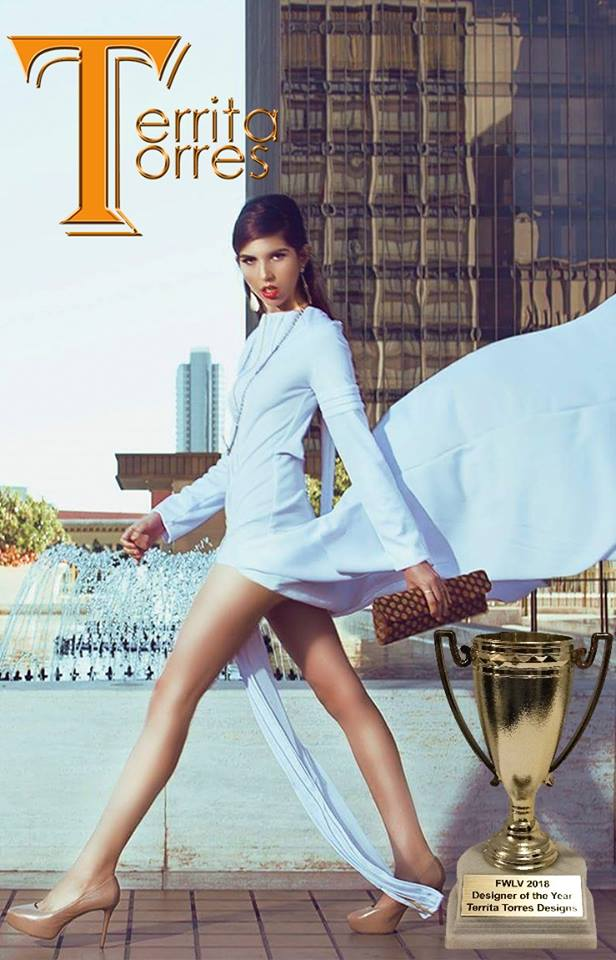Territa Torres Designs, FWLV 2018 International Emerging Designer of the Year.