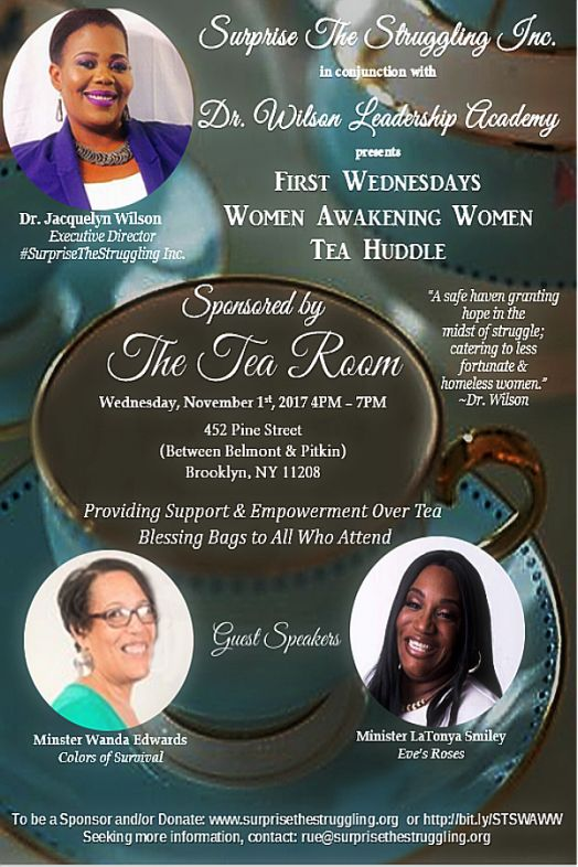 First Wednesdays Women Awakening Women Tea Huddle