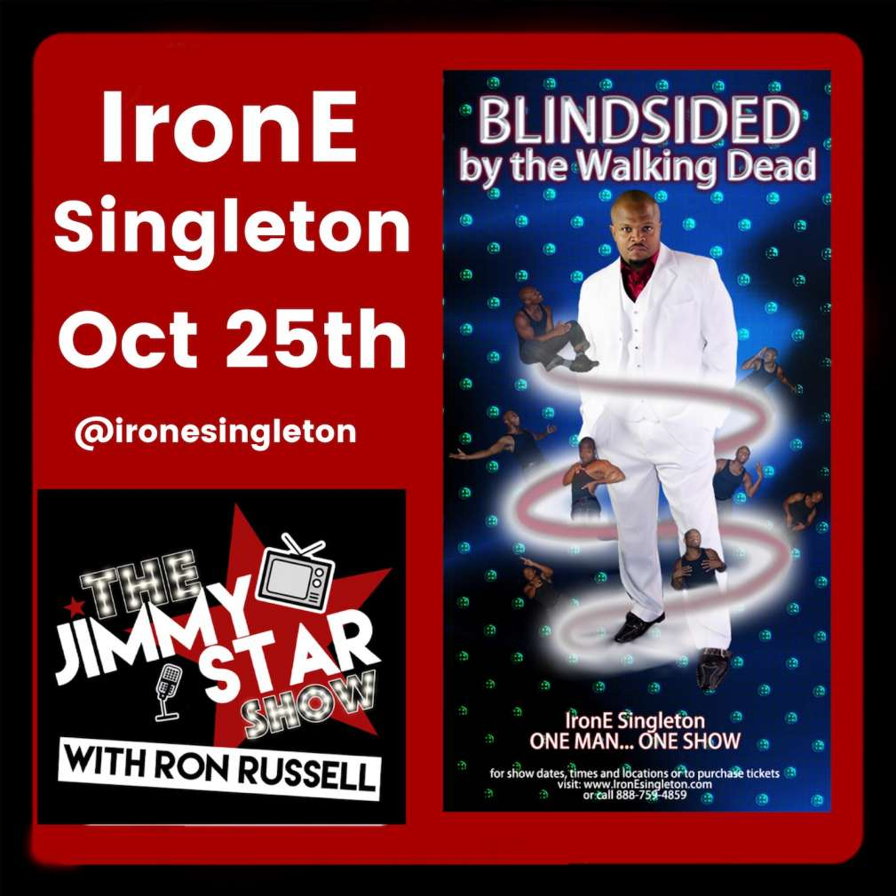 IronE Singleton On The Jimmy Star Show With Ron Russell