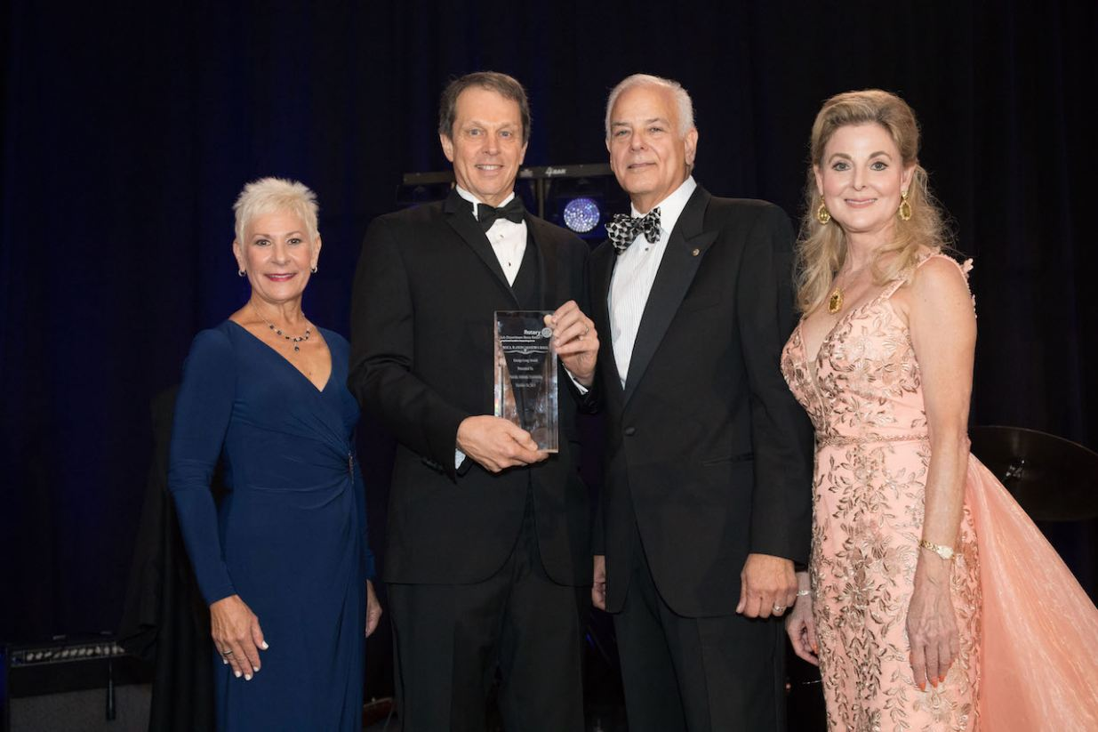 Award presented to President John Kelly, Florida Atlantic University