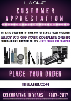 The Lashe Customer Appreciation