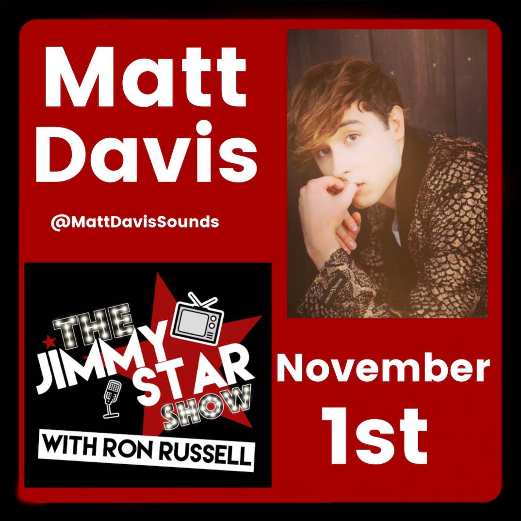 Matt Davis On The Jimmy Star Show With Ron Russell