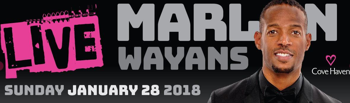 Marlon Wayans at Cove Haven Resorts Sunday, January 28, 2018
