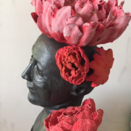 """Flora""(Ode to Frida) by Constance McBride"