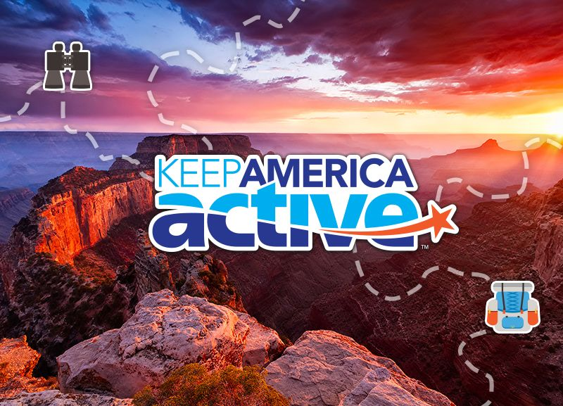 Keep America Active takes participants on a virtual cross-country road trip.