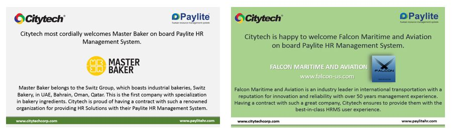 Falcon & Master Baker signed contracts with Citytech