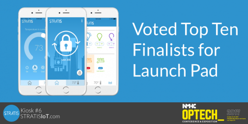 STRATIS named Top Ten Finalist at Launch Pad