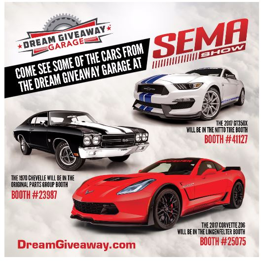 Dream garage sweepstakes