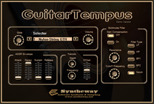 syntheway releases guitartempus virtual acoustic semi acoustic and electric guitar vst. Black Bedroom Furniture Sets. Home Design Ideas