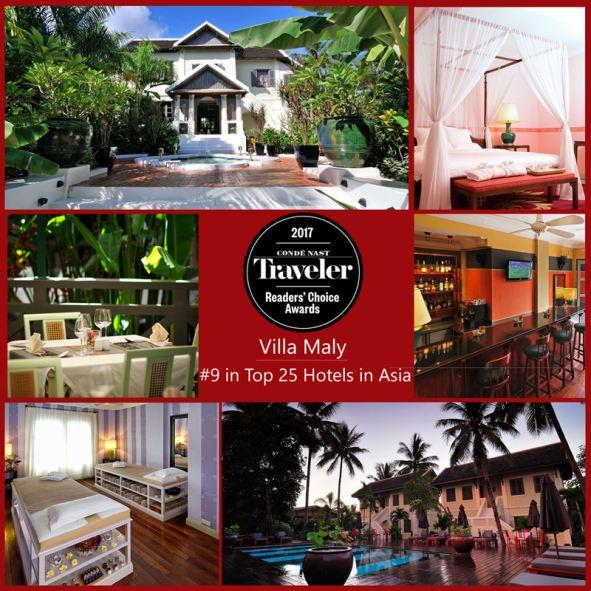 Villa Maly Hotel Laos