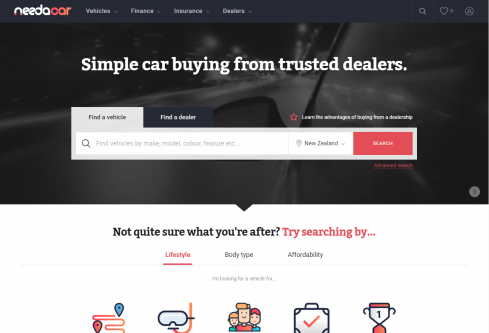 Need A Car - New Zealand's newest way to find and buy cars.
