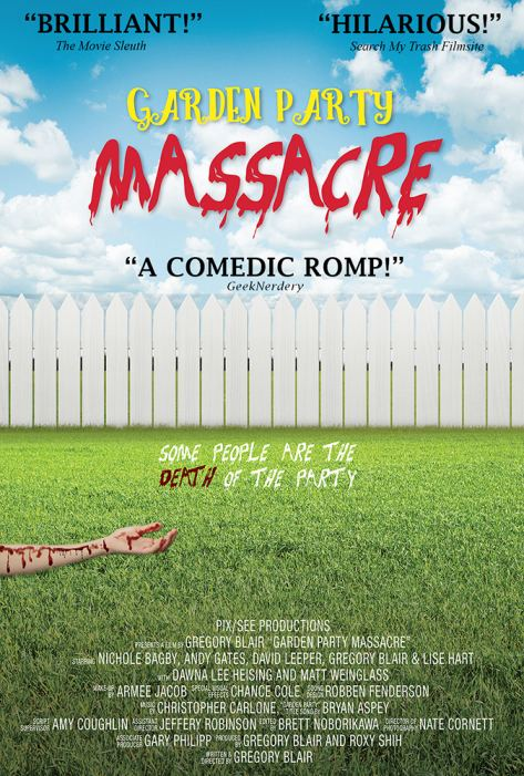 """Garden Party Massacre"" Poster with Reviews"